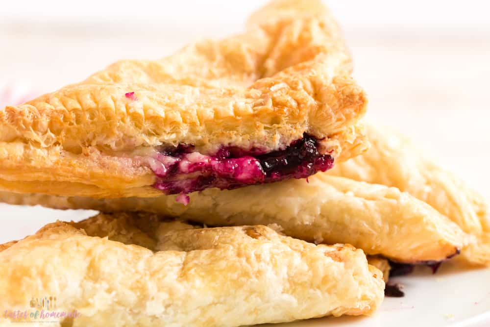 blueberry lemon turnovers