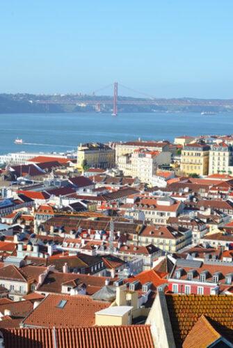 city view of Lisbon