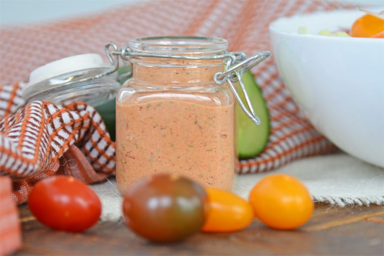 Chipotle ranch dipping sauce