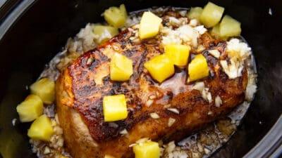 pork loin in a crockpot