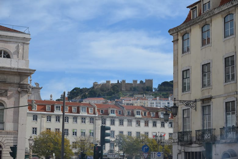 St. George's Castle in Lisbon