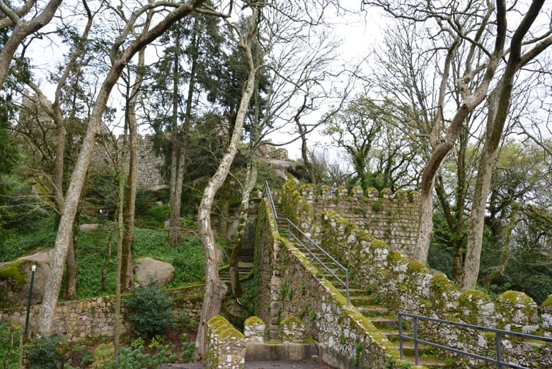 Castle of the Moors Stairs