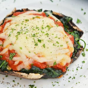 vegetarian stuffed mushrooms