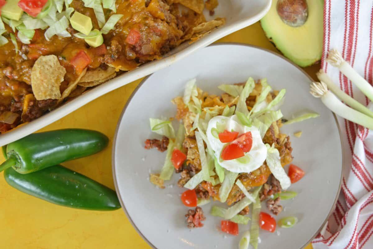 Delicious taco bake casserole recipe