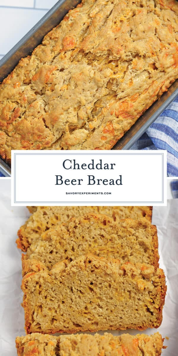cheddar beer bread for pinterest