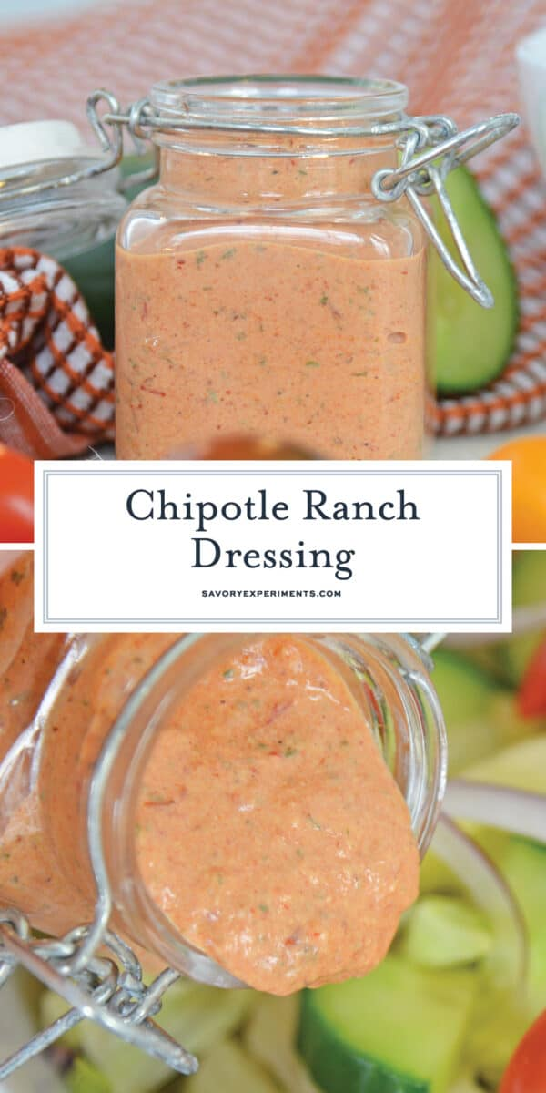 Chipotle ranch dressing for Pinterest