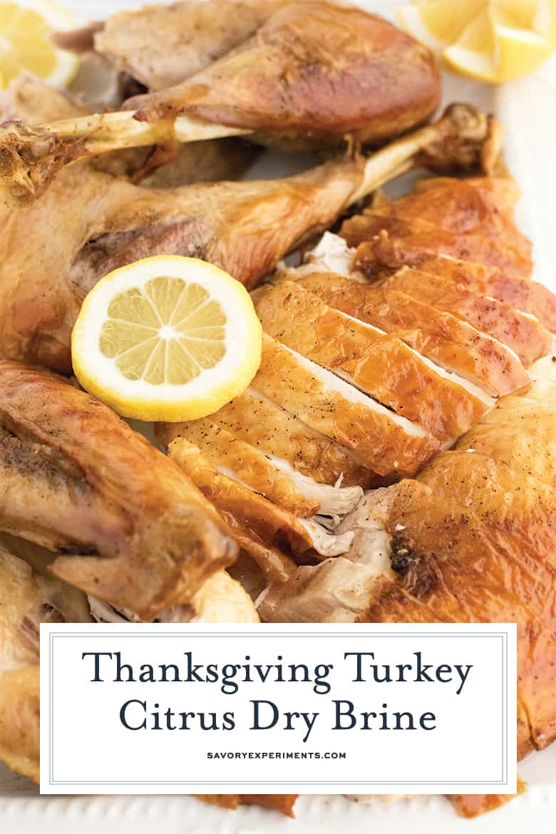 Citrus Dry Brine For Turkey Moist Turkey With A Citrus Zing