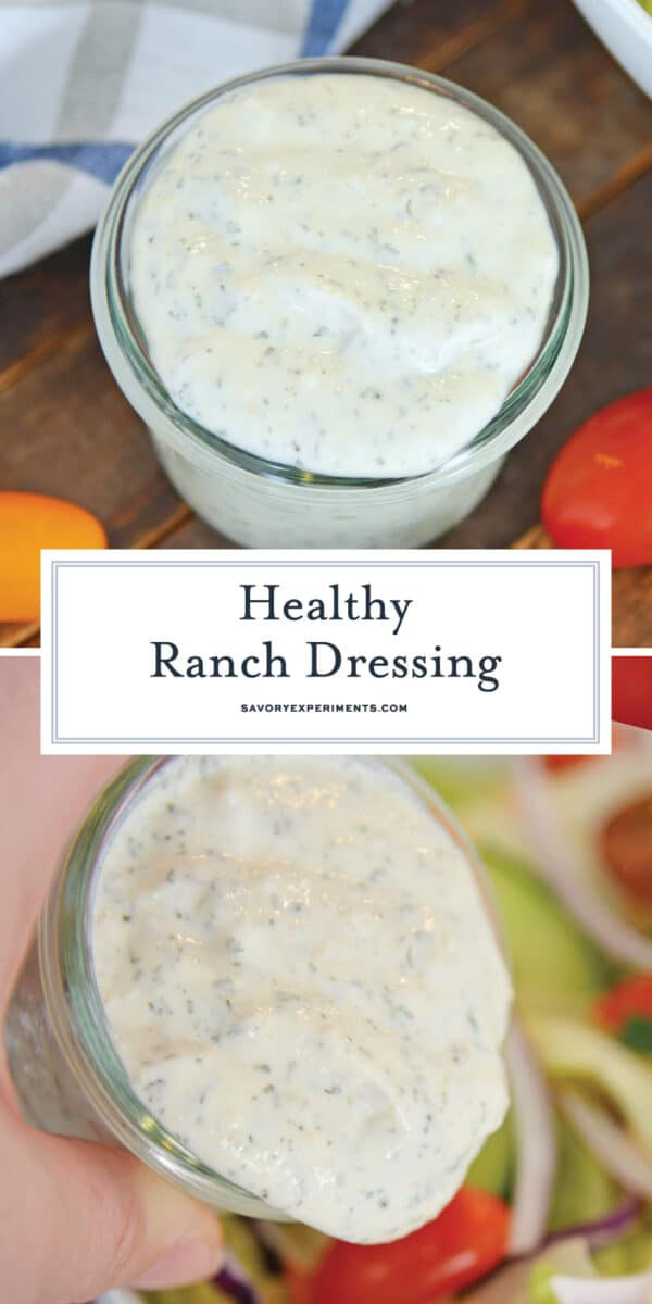 healthy ranch dressing for pinterest