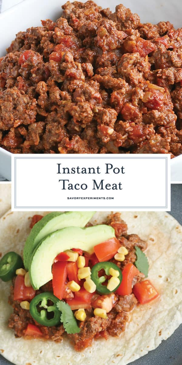 taco meat for Pinterest