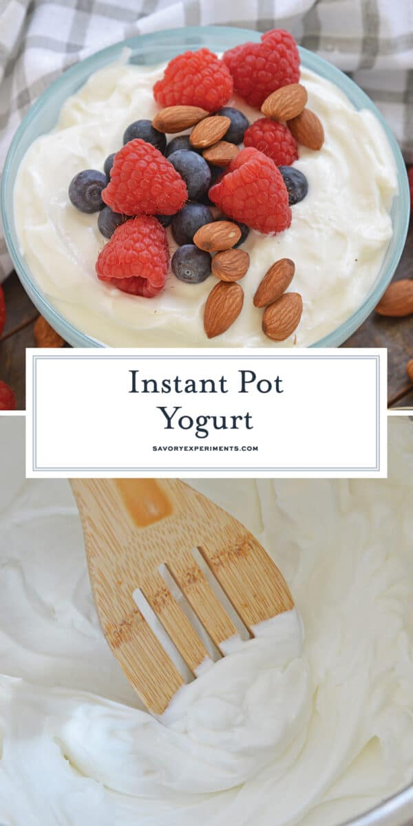 Instant Pot Yogurt for Pinterest
