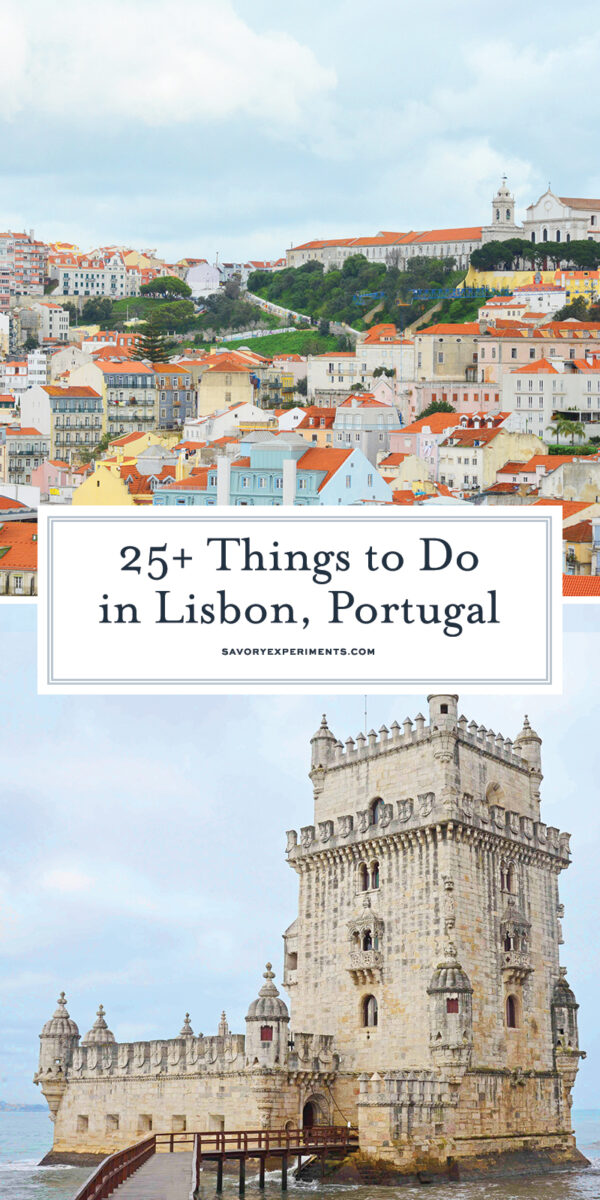 Things to do in Lisbon for Pinterest