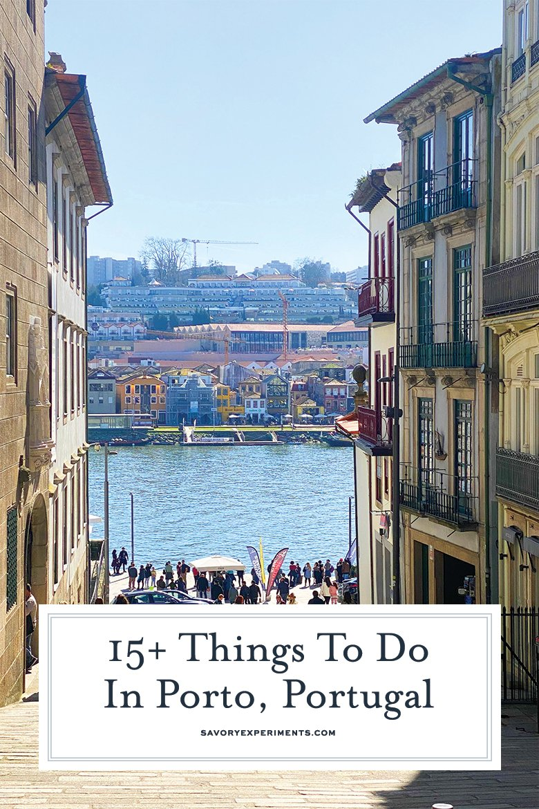 Things to do in Porto for Pinterest