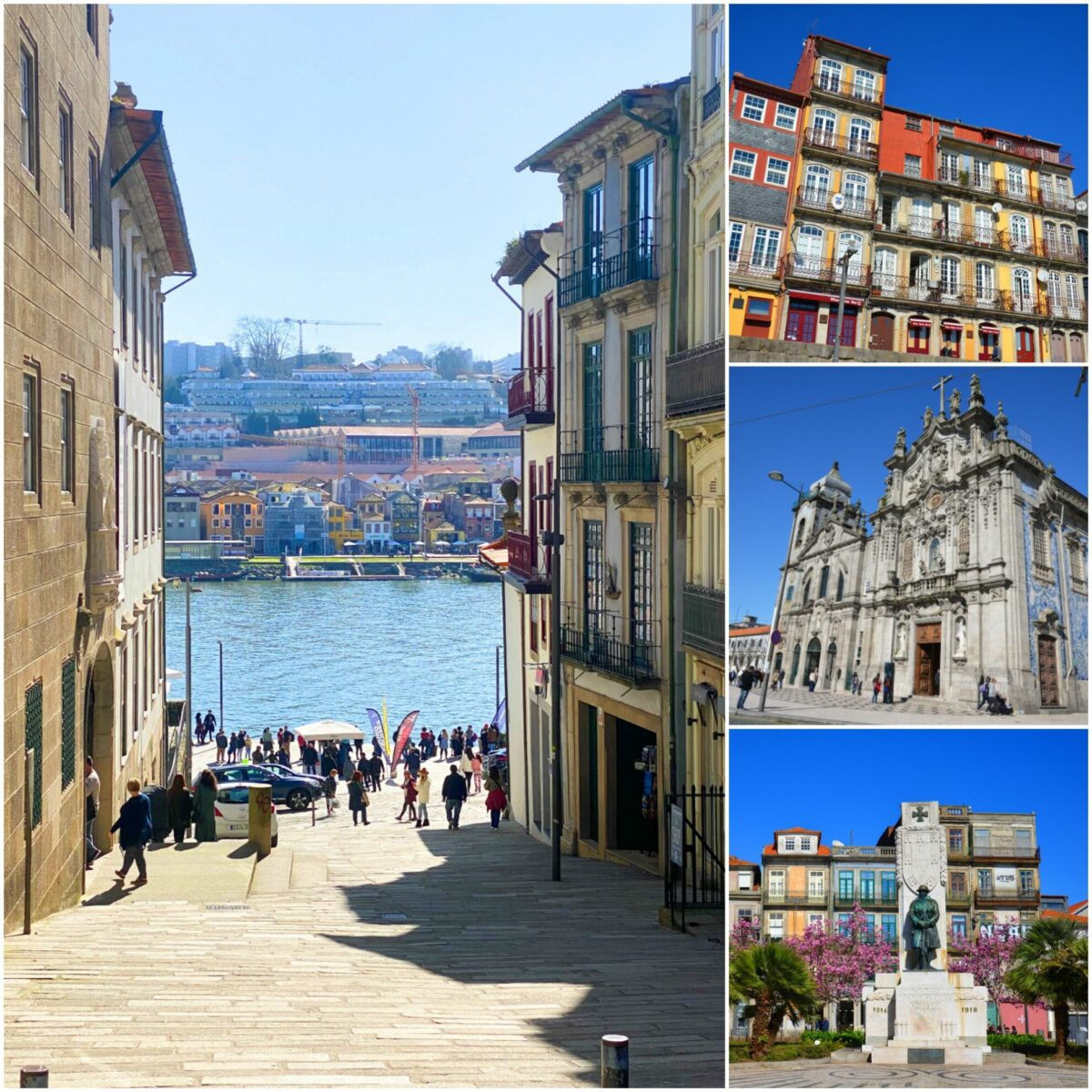 Sites in Porto, Portugal