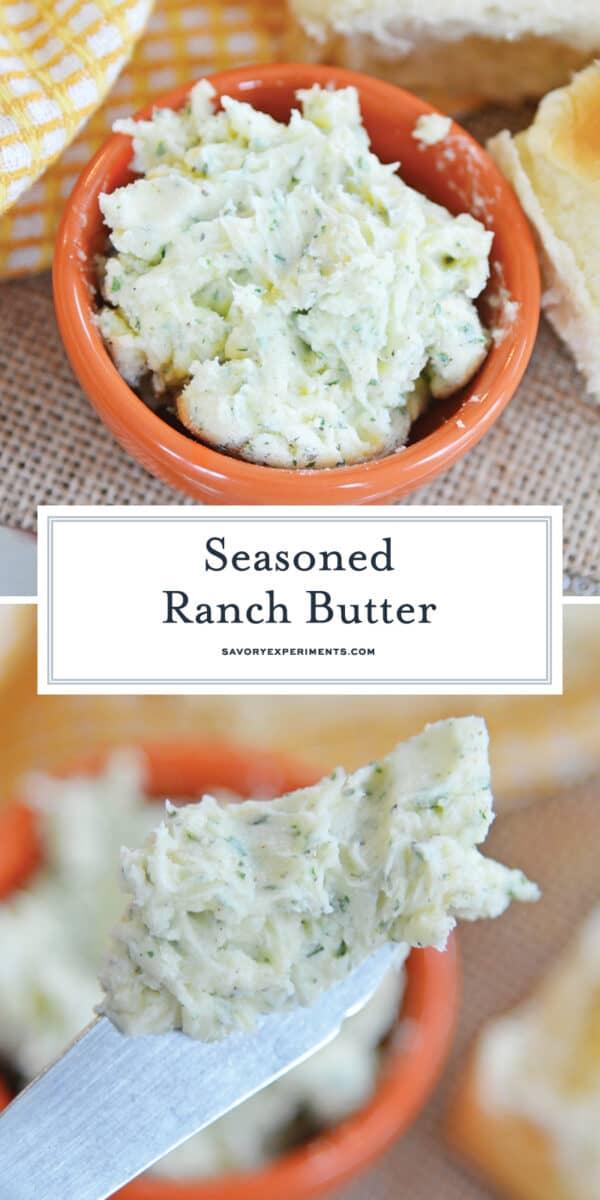 Seasoned ranch butter for pinterest