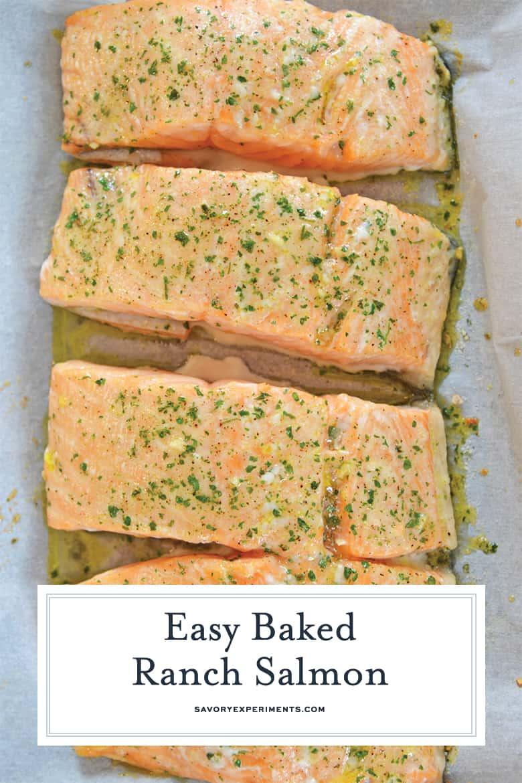 Baked Ranch Salmon for Pinterest