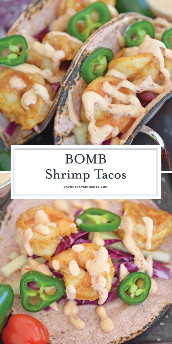 Best Shrimp Tacos for Pinterest