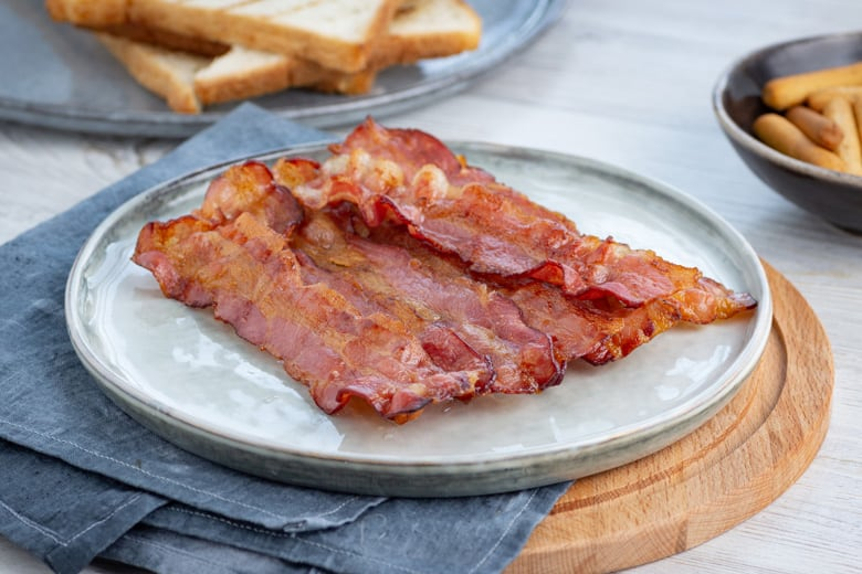 air fryer bacon for breakfast