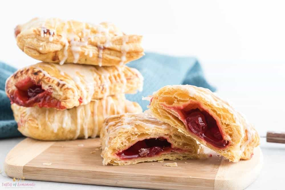 air fryer cherry turnovers