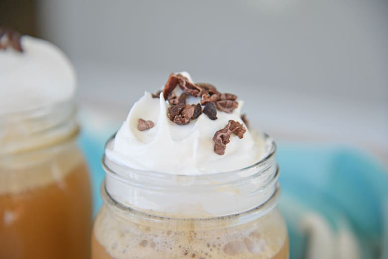 whipped coffee drink