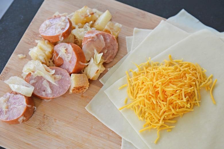 german egg roll ingredients