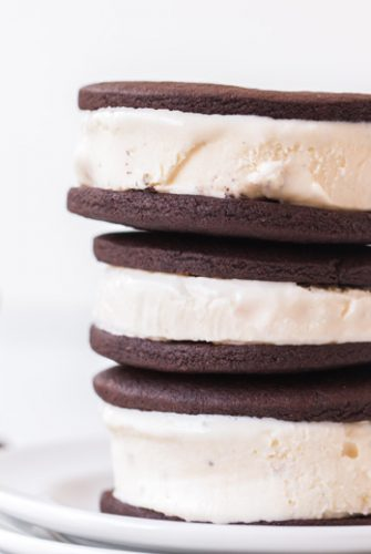 pile of ice cream sandwiches