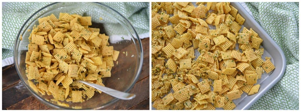 how to make ranch chex mix