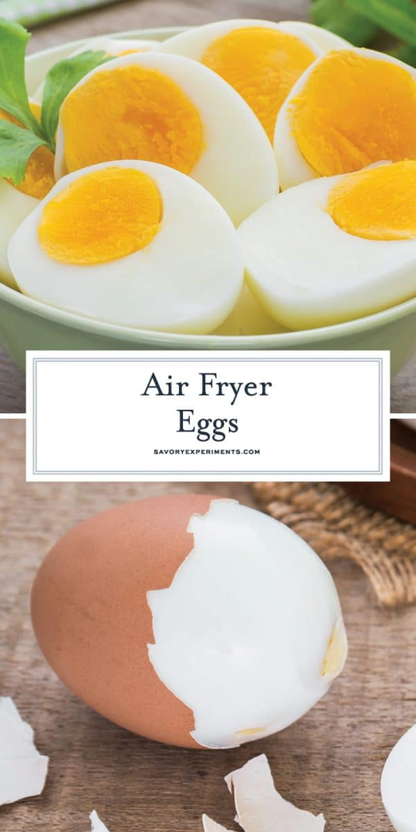air fryer eggs for pinterest