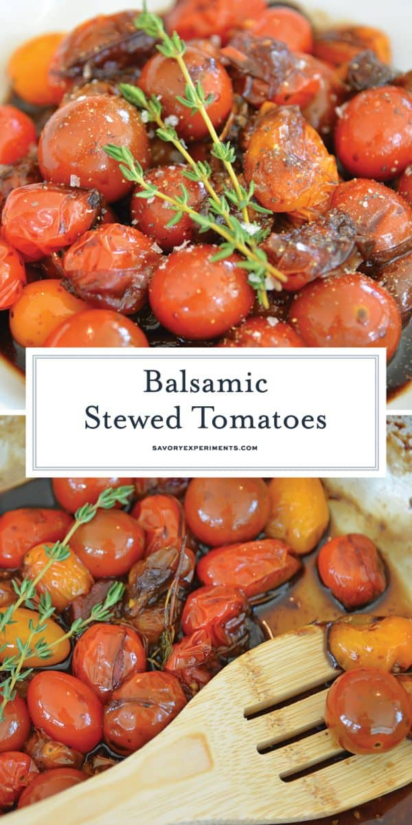 balsamic stewed tomatoes for pinterest