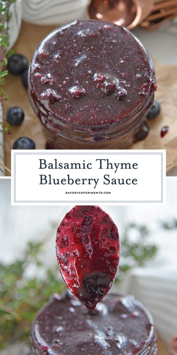 fresh blueberry sauce for Pinterest