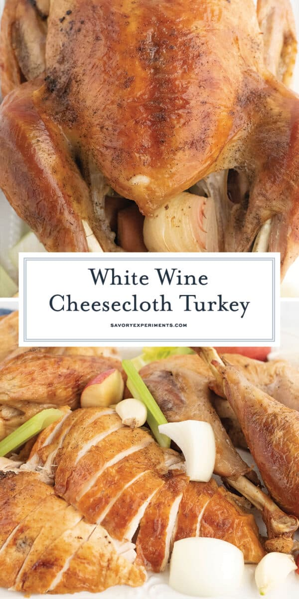 butter cheesecloth turkey recipe for pinterest