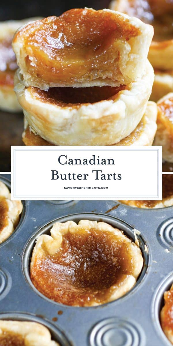 Canadian butter tarts for Pinterest