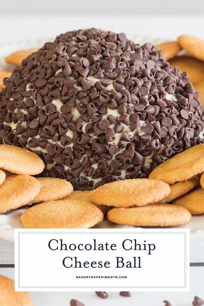 creamy chocolate chip cheese ball recipe