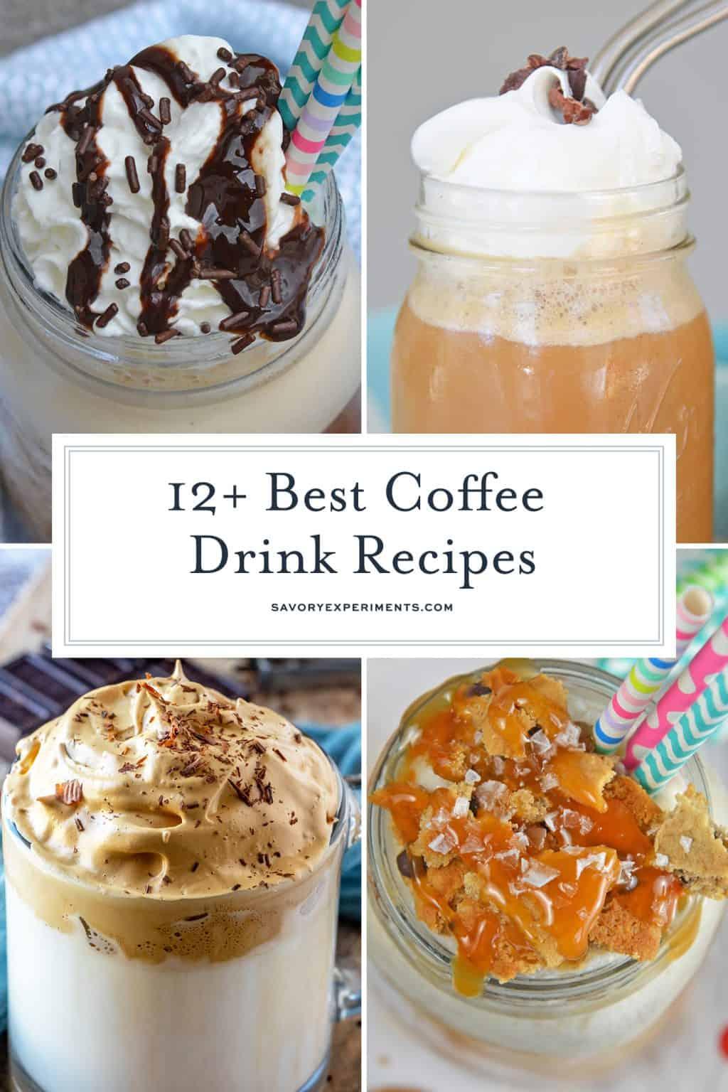 15+ Coffee Drink Recipes