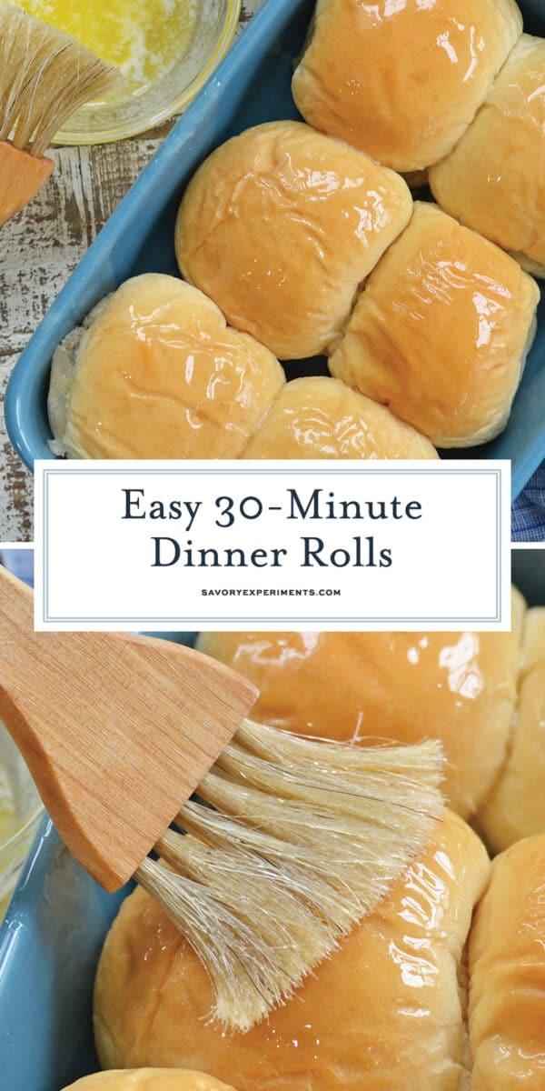 Easy Dinner Rolls for Pinterest