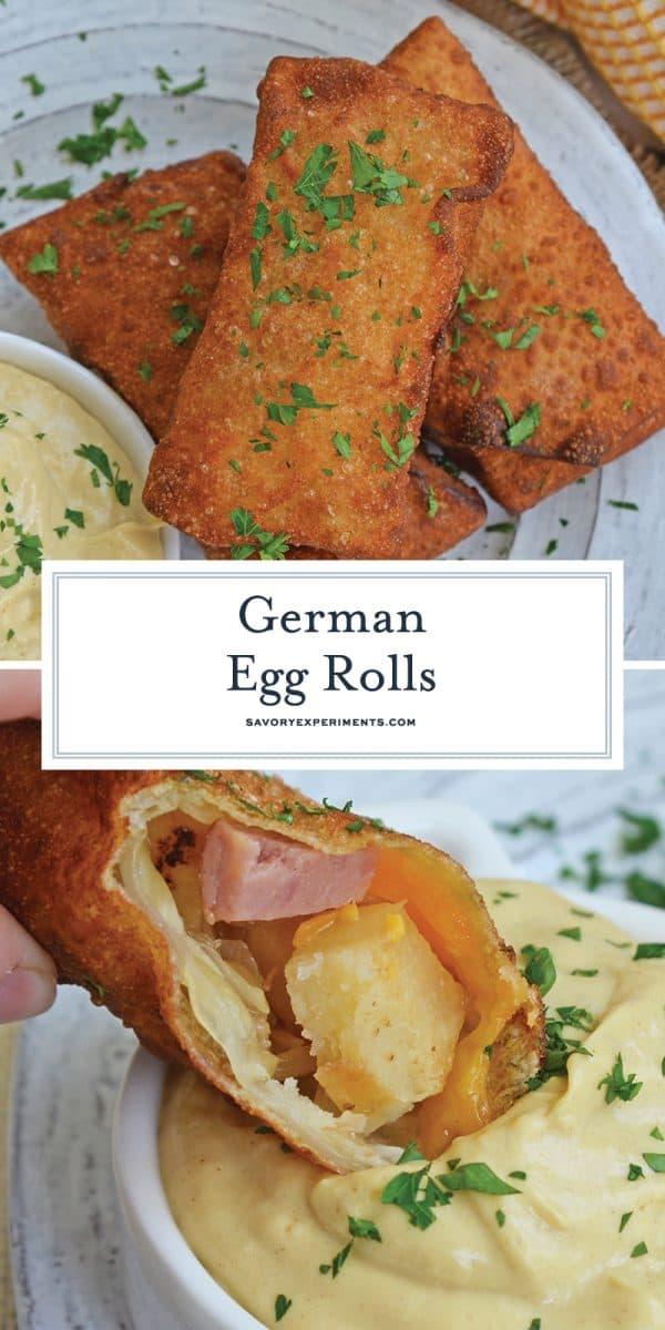 German egg rolls for pinterest