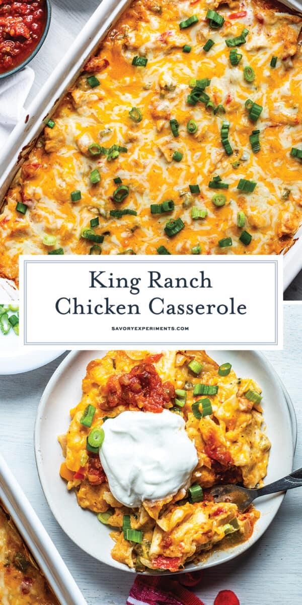 king ranch chicken casserole for pinterest