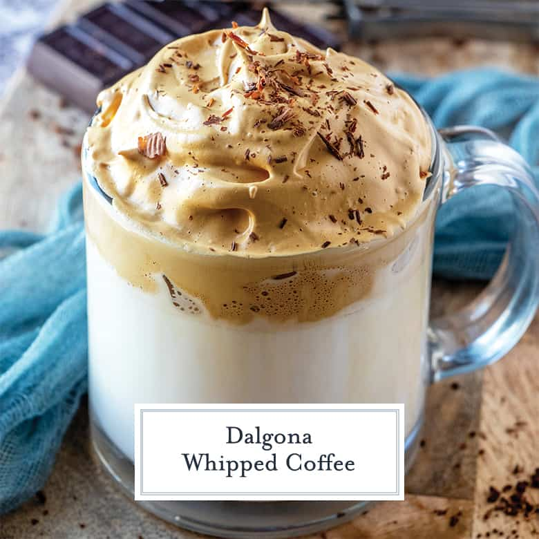 dalgona whipped coffee recipe