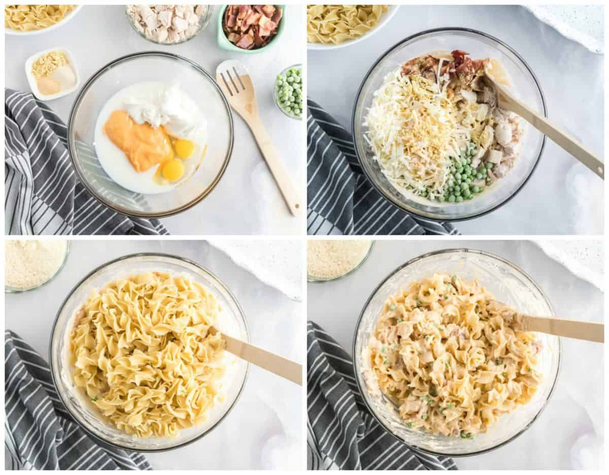 how to make chicken noodle casserole