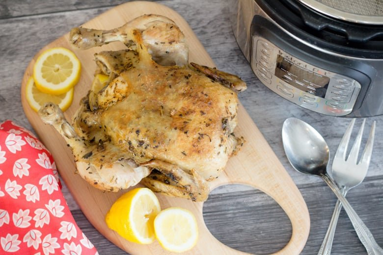 Instant Pot Whole Chicken with Seasoning