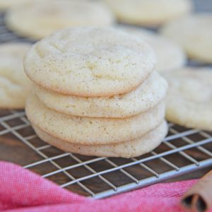 Snickerdoodles in a pile