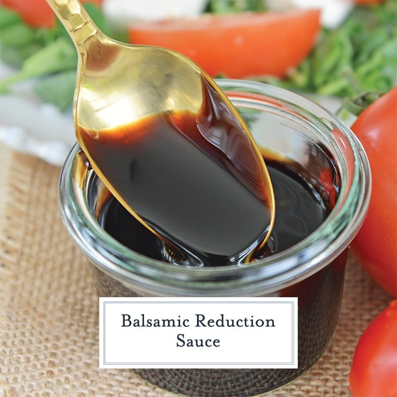 Easy Balsamic Reduction The Best Balsamic Glaze