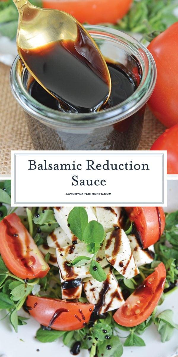 balsamic reduction sauce for pinterest