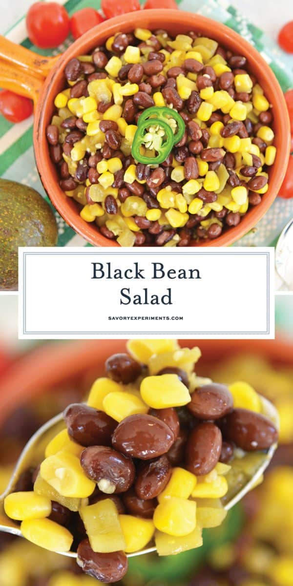 black bean salad for pinterest