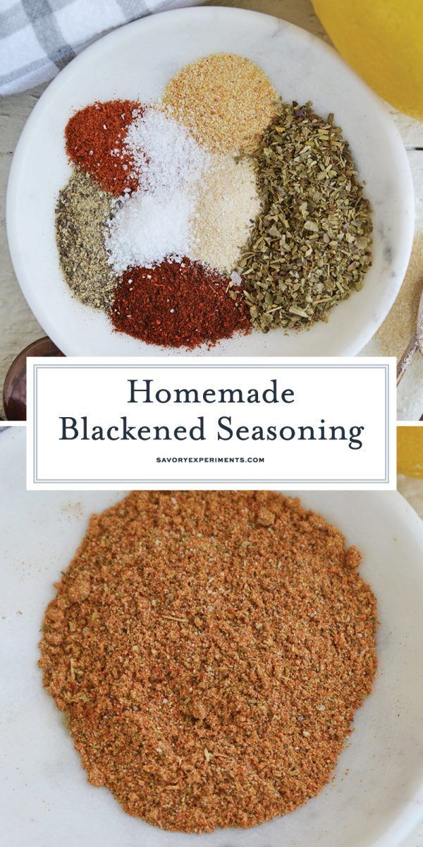 blackened seasoning for Pinterest