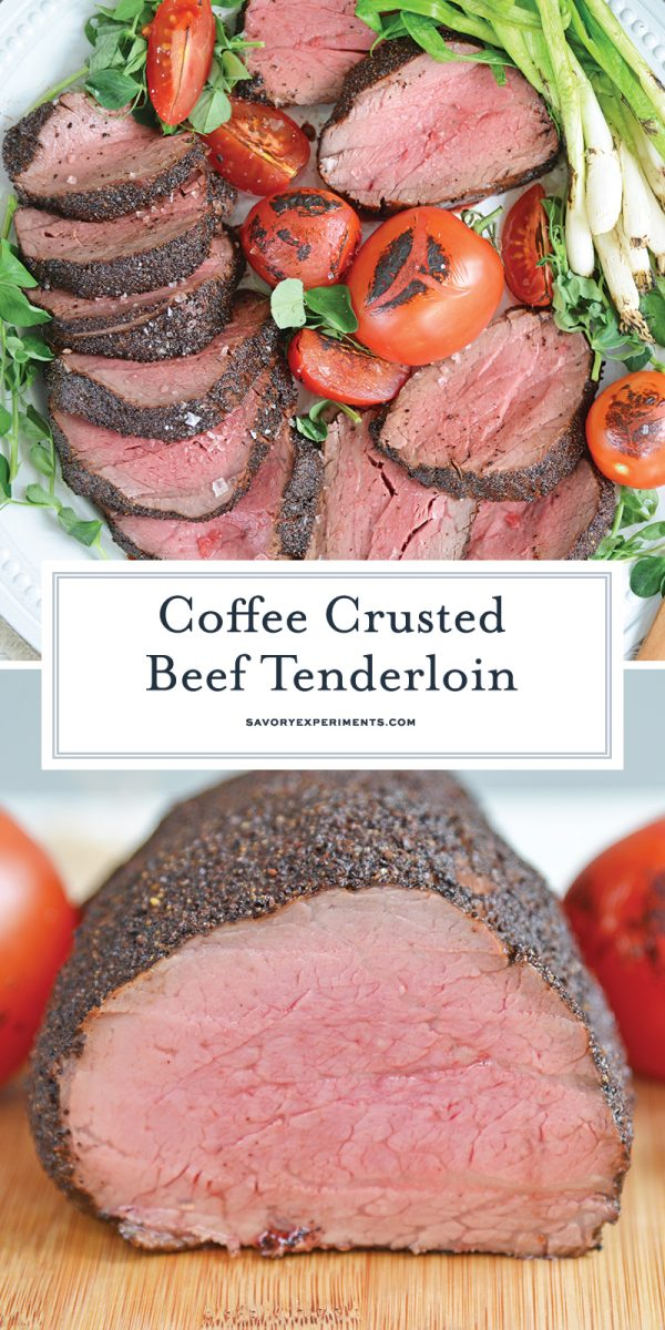 coffee crusted tenderloin for Pinterest