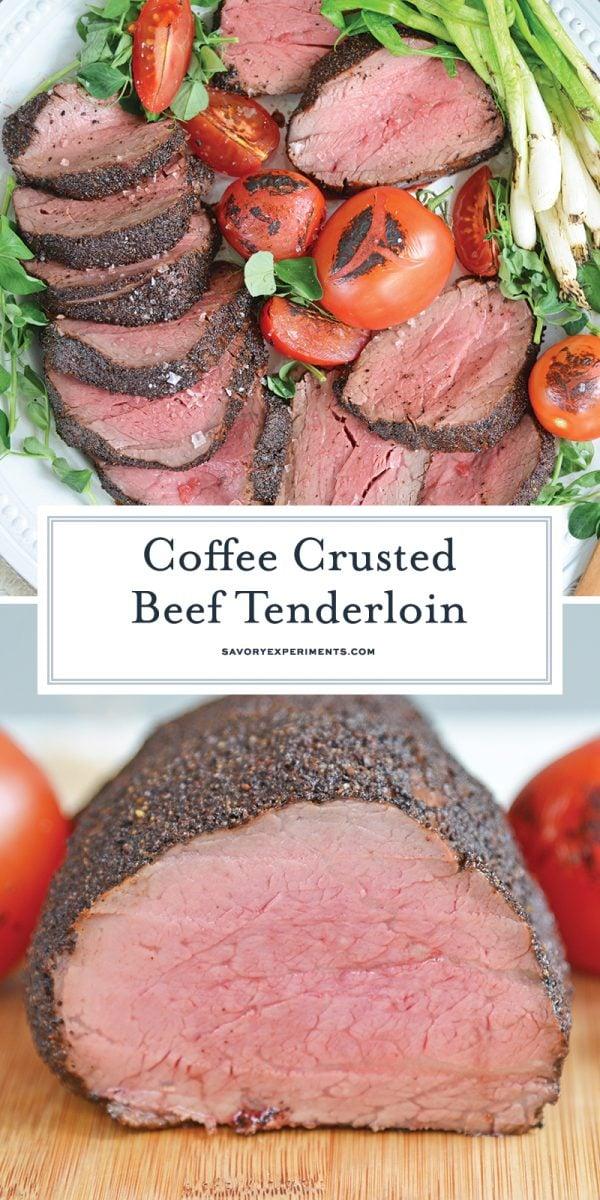 coffee crusted tenderloin for Pinterest