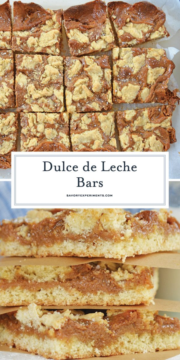 dulce de leche bars for pinterest