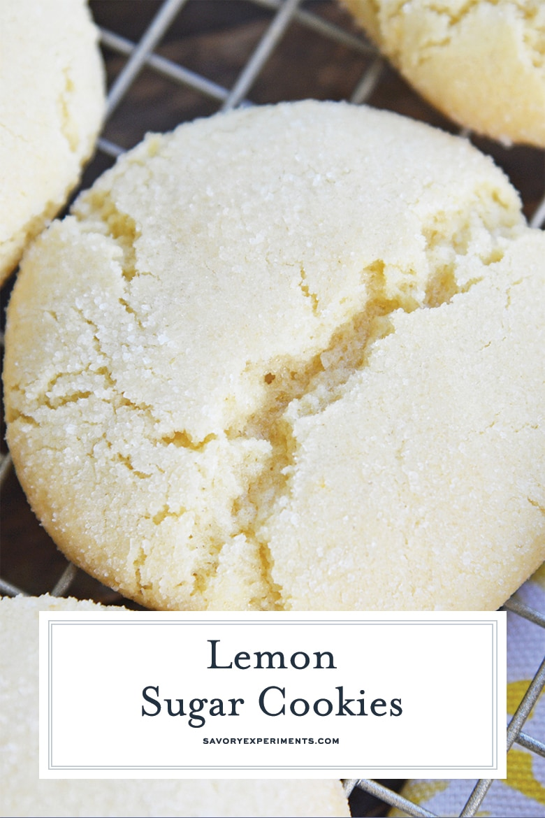 close up of sugar cookie for pinterest