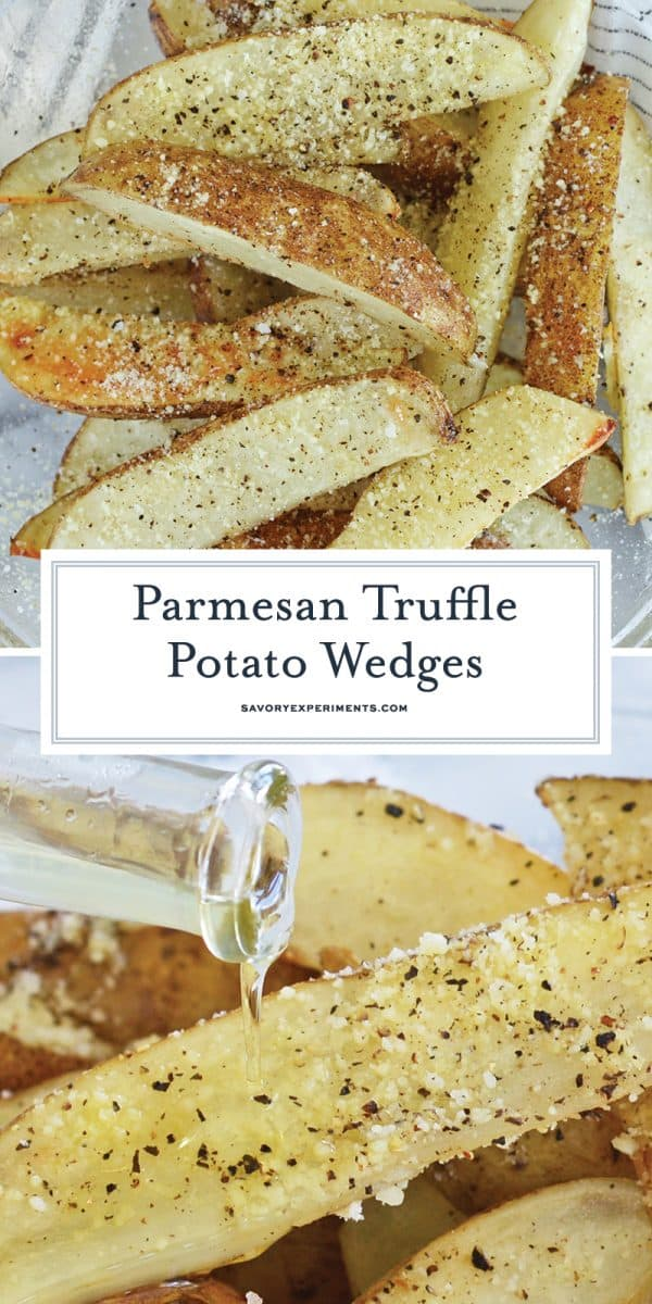 parmesan truffle fries for pinterest