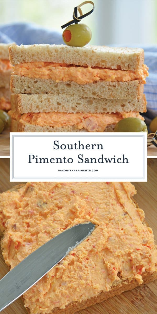 pimento cheese sandwiches for Pinterest